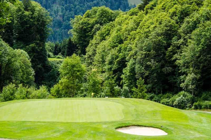 Golf in den Kitzbüheler Bergen - 12