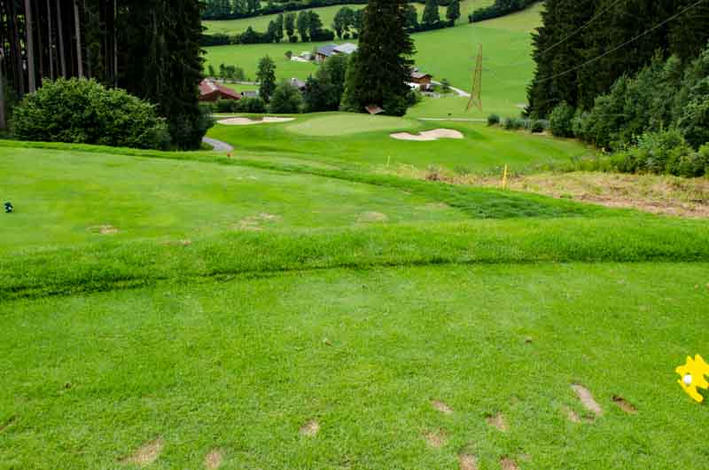 Golf in den Kitzbüheler Bergen - 1
